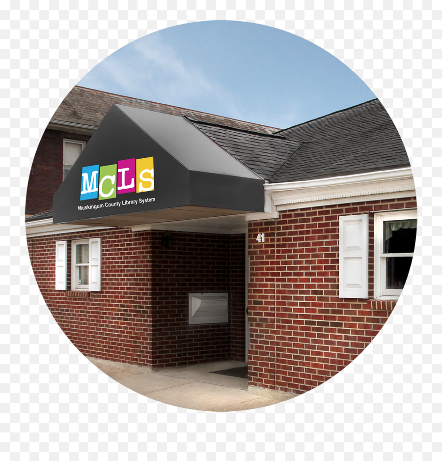 The Muskingum County Library System - House Emoji