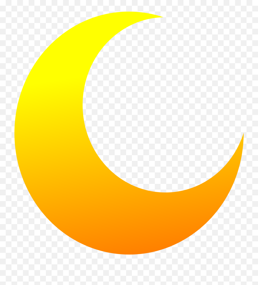 Crescent Half Moon Vector Clipart Image - Moon Clipart Emoji,Is There An Eiffel Tower Emoji