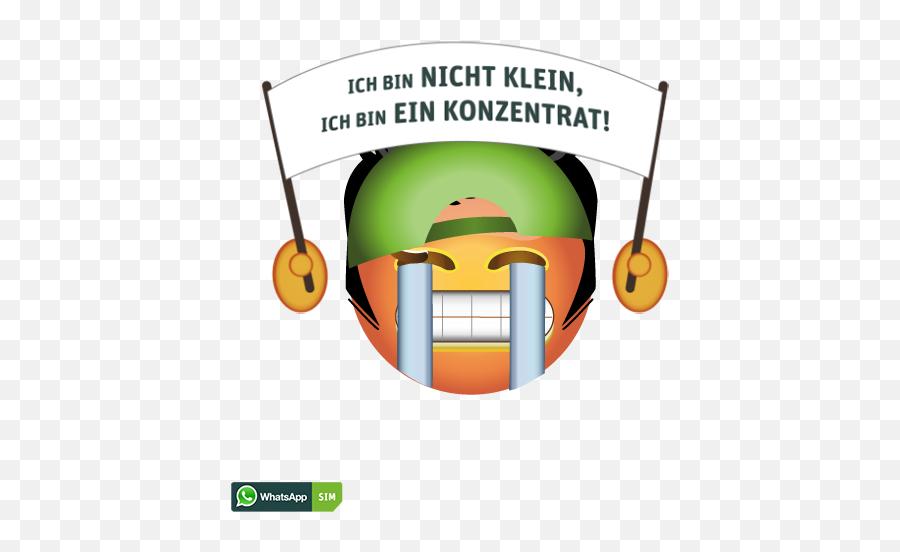 Breitem Grinsen Und Elvis - Whatsapp Emoji