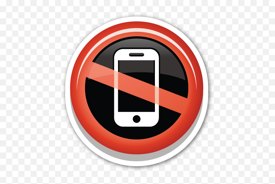 No Mobile Phones - Reduce Use Of Mobile Emoji,Cell Phone Emoji