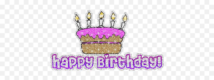Happy Birthday Glitter Gif - Glitter Happy Birthday Clip Art Emoji