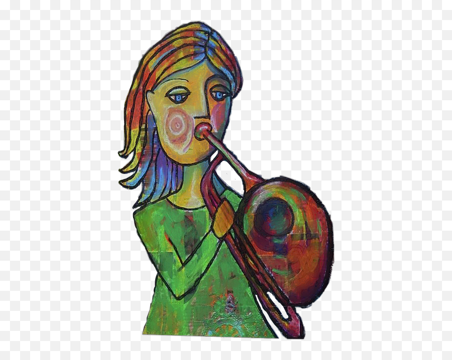 The Newest Trombone Stickers - Types Of Trombone Emoji