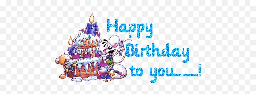 Emoticons - Happy Birthday 2017 Gif Emoji