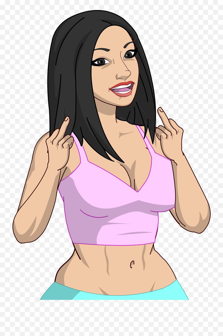 Bigbadmoji - For Women Emoji,Mic Emoji