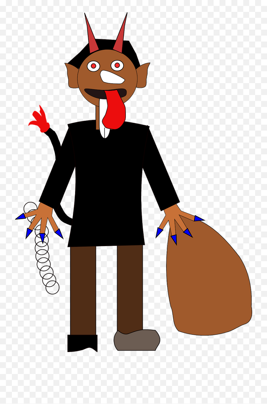Devil Satan Haloween Costume Demon Evil - Evil Devil Cartoon Emoji