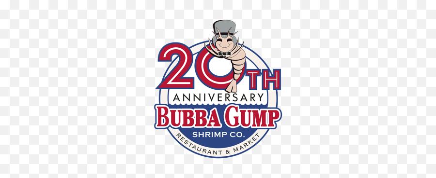 Bubba Gump Birthday Nacho Specials - 20th Anniversary Bubba Gump Emoji