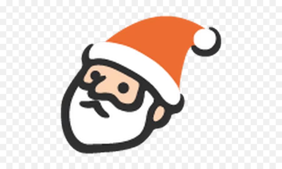 Hangouts Emoji Stickers For Telegram - Emoji Santa Claus Png,Santa Clause Emoji