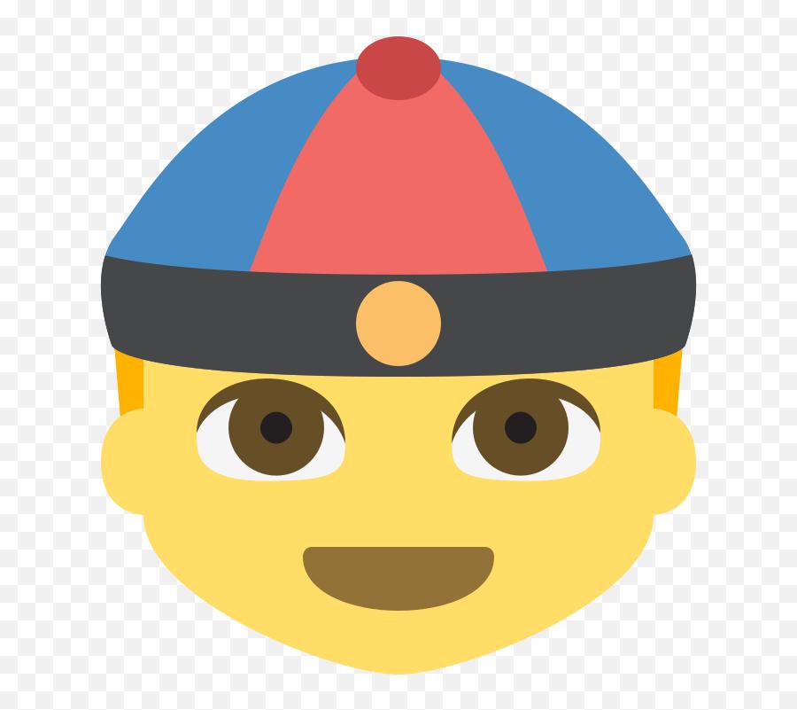 Emojione 1f472 - Discord Emoji China