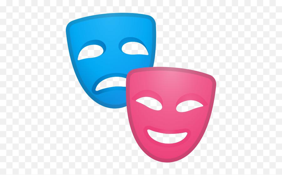 Performing Arts Emoji - Theater Mask Emoji
