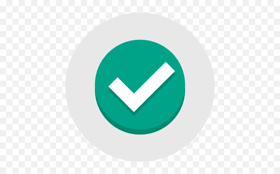 Green Tick Icon At Getdrawings - Ok Flat Design Icon Emoji