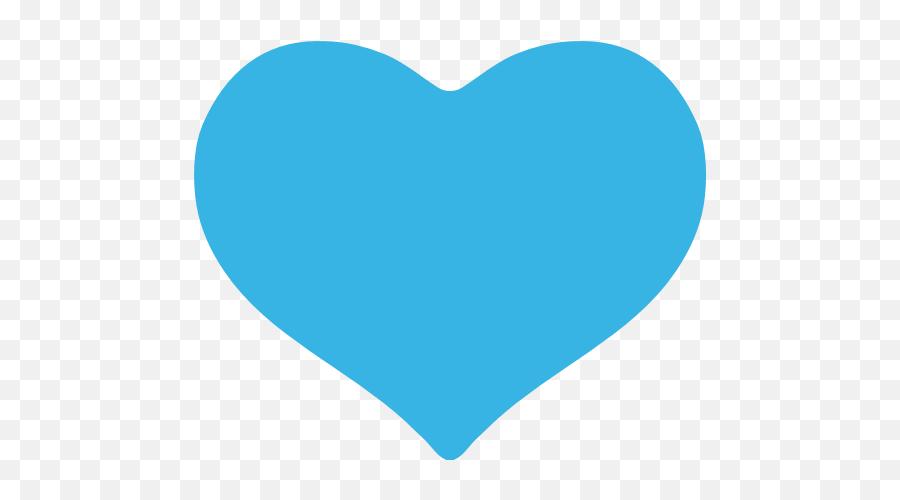 Blue Heart Emoji For Facebook Email - Blue Heart