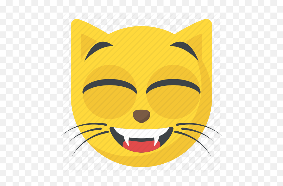 Smiley 5 - Cat Smiley Emoji,Cat Emoji