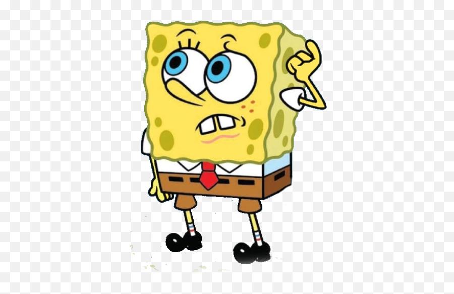 Confused Png - Spongebob Confused Png Emoji