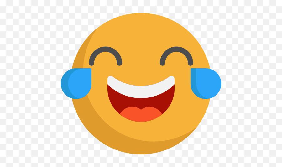Laughing Emoji Png Icon - Laughing Face Without Background,Laughing Emoji Png