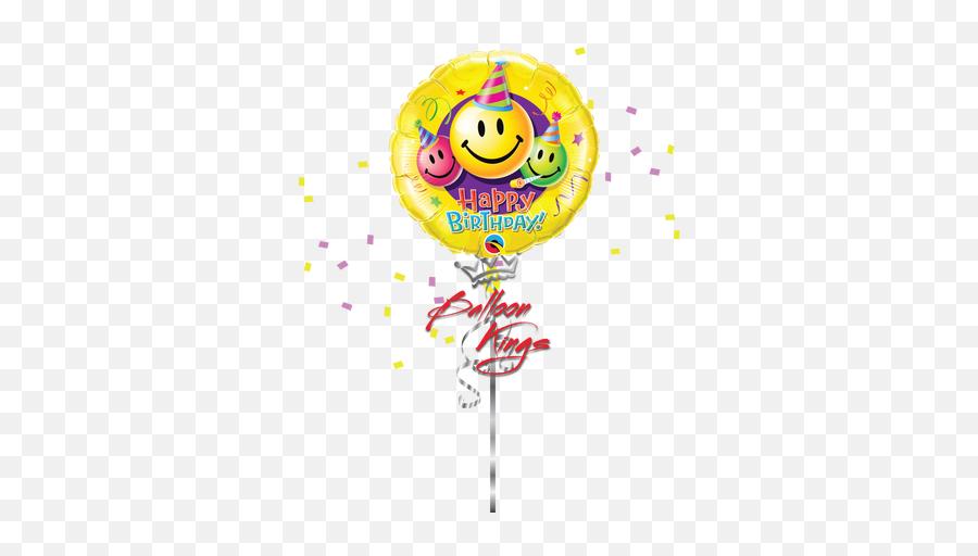 Birthday Smiley Faces - Smiley Face Birthday Chart Emoji