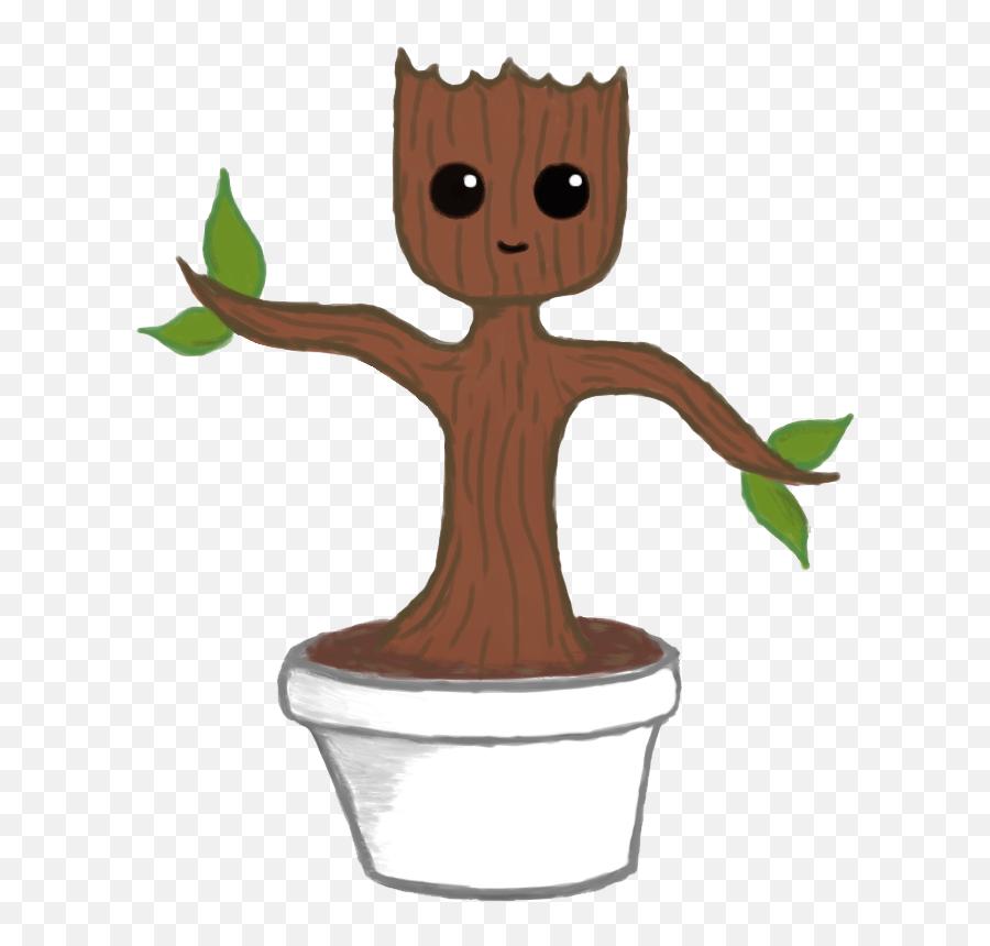 Download Baby Groot File Hq Png Image - Groot De Plant Png Emoji,Groot Emoji