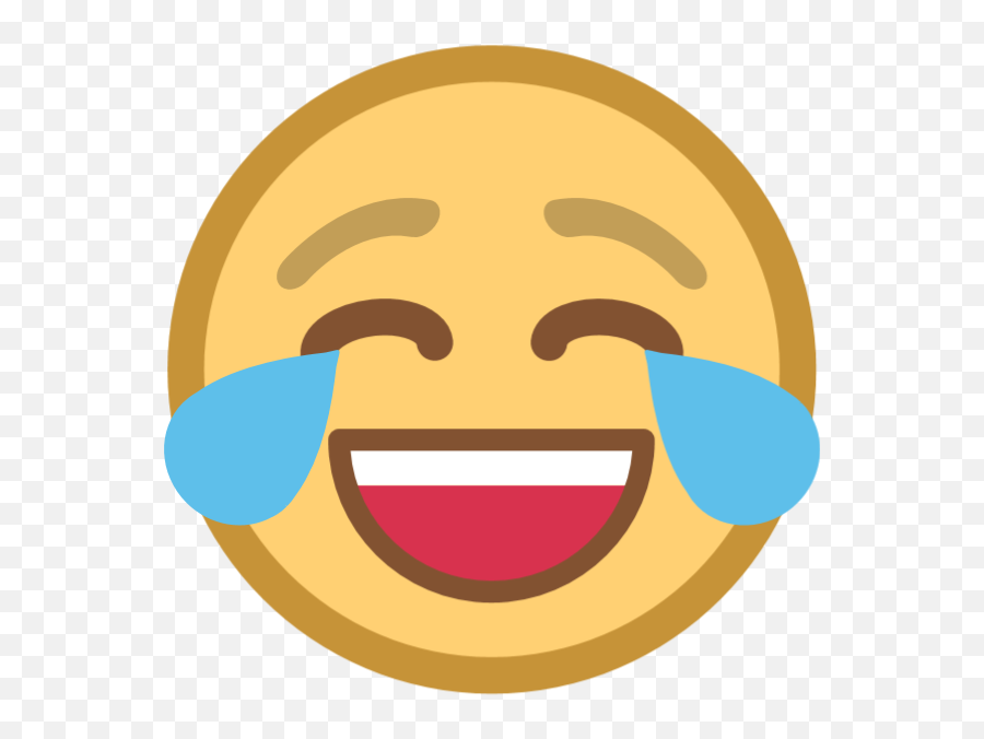 Free Online Emoji Laughing And Crying Vector For - Face,Laugh Tears Emoji