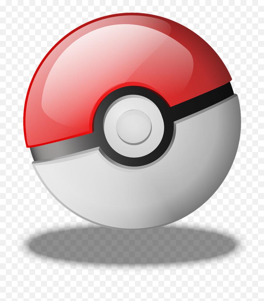 Pokeball Pokemon Game Ball Nintendo - Pokemon Go Pokeball Transparent Emoji,Santa Emoji Iphone