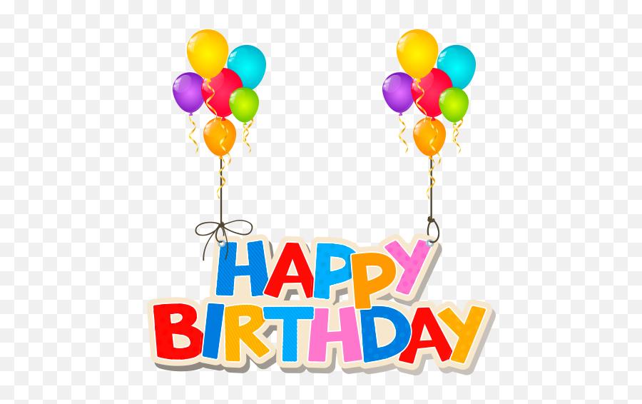 Wastickerapps Happy Birthday For Whatsapp - Birthday Emoji,Happy Birthday Emoji Texts