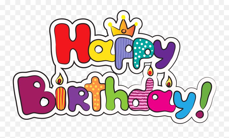 Happy Birthday Clipart Png Emoji,Happy Birthday Emoji Texts