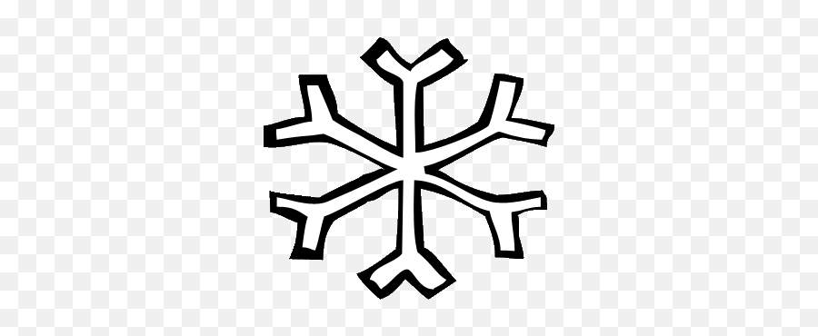 Snowflakes Snowflake Clipart 2 2 - Snowflake Clipart Small Emoji,Snowflake Sun Leaf Leaf Emoji