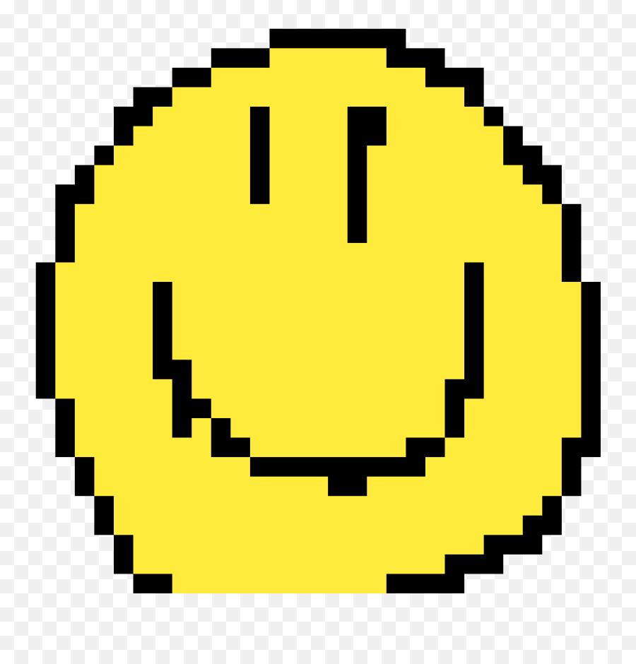 Pixilart - Sou Feliz By Ssdino 8 Bit Black And White Emoji,Emoticon Feliz