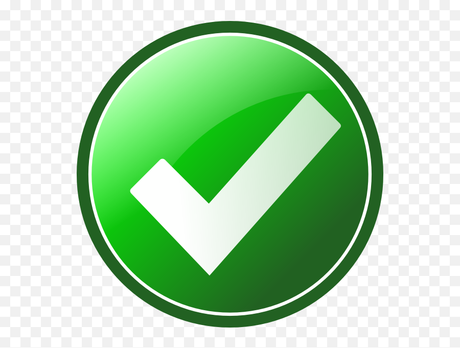 Check Mark Clipart Free - Check Mark Free Clip Art Emoji