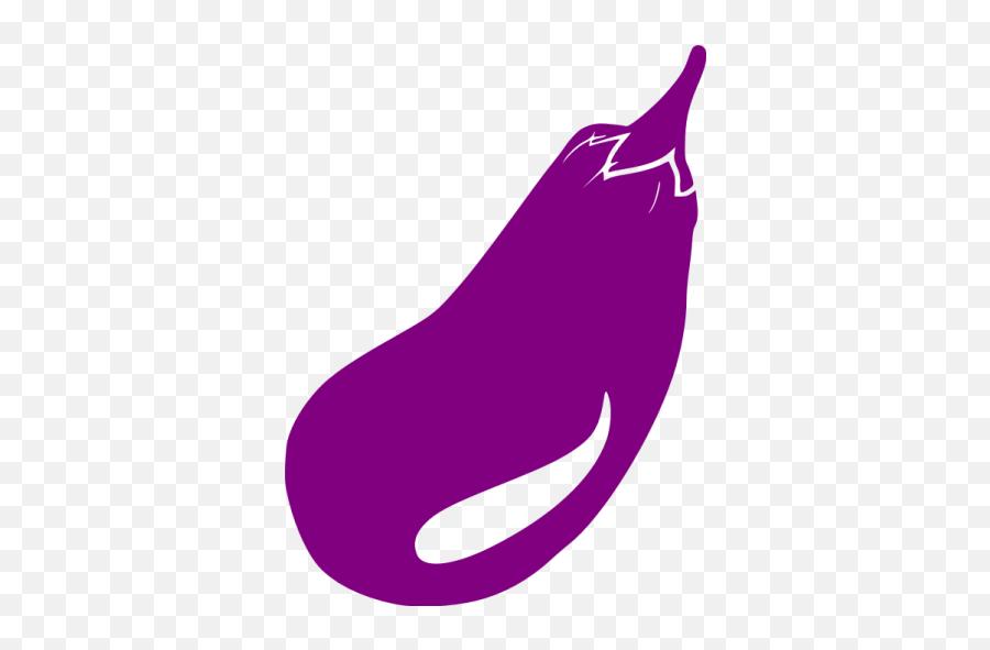 Purple eggplant icon - Free purple vegetables icons  Clip Art Emoji