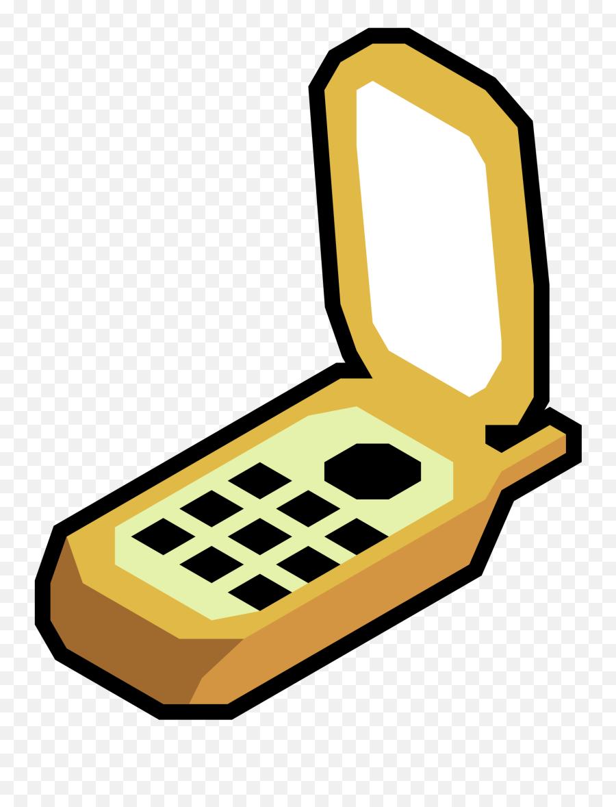 Phone Emoji Clipart - Flip Phone Clipart Png,Cell Phone Emoji