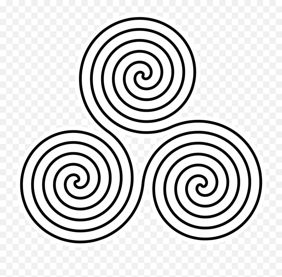 Triskelion - Wikipedia Triple Spiral Emoji,Spiral Emoji