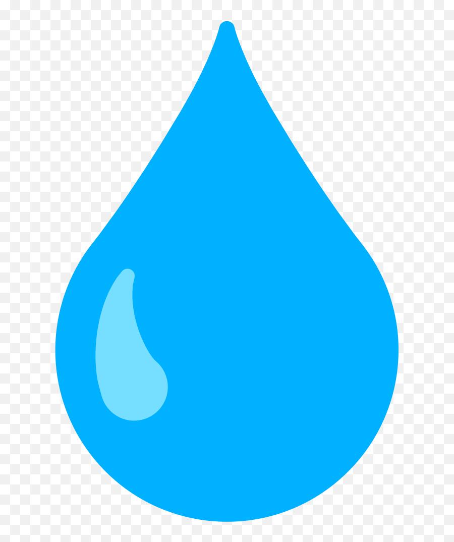 Fxemoji U1f322 - Clipart Water Droplet