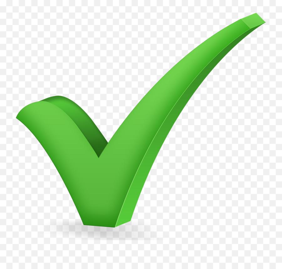 Green Tick - Green Tick Emoji