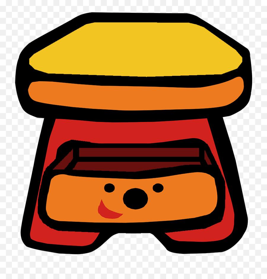 Cartoon Sidetable 3 Blues Clues - Blues Clues Bedside Table Emoji,Sailor Moon Emoji