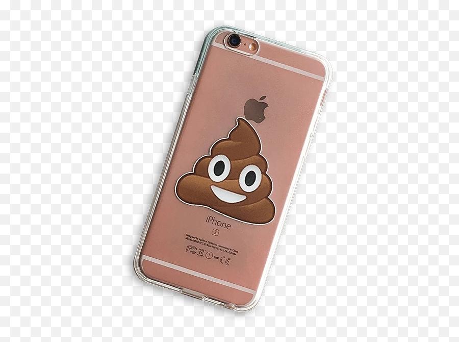 Milkyway Poop Emoji Clear Tpu Cell Phone Case For Iphone 7 - Iphone,Cell Phone Emoji