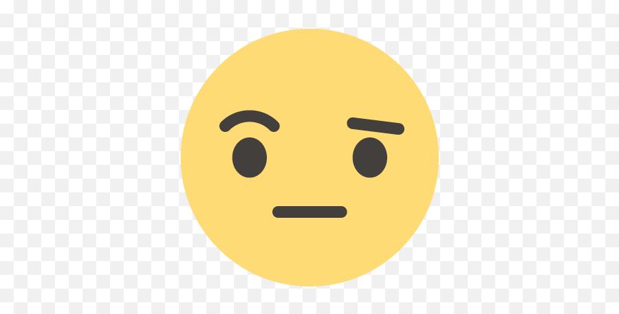 Wondering Icon - Smiley Emoji