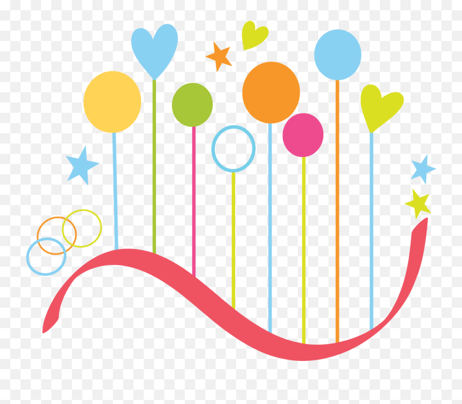 Abstract Colorful Heart Png Clipart - Top Gun Vfa 25 Emoji,Happy Birthday Emoji Texts