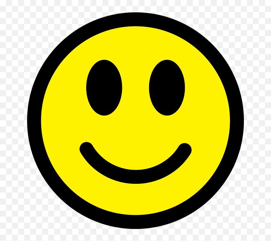 Smiley Emoticon Happy - Happy Side And Dark Side Emoji,Joy Emoji