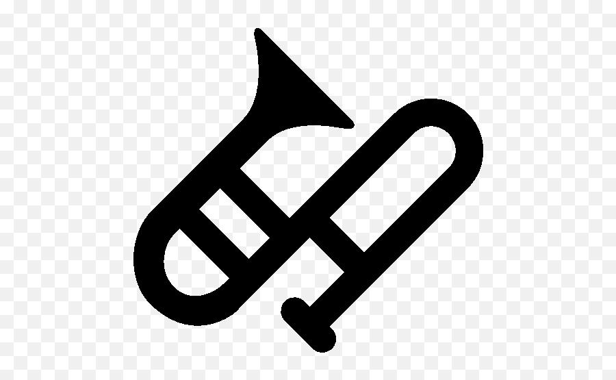 Music Trombone Icon - Icons Trambone Emoji,Trombone Emoji