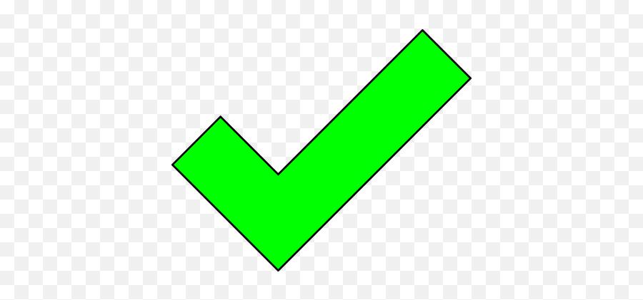 Free Ok Tick Vectors - V Ok Png Emoji