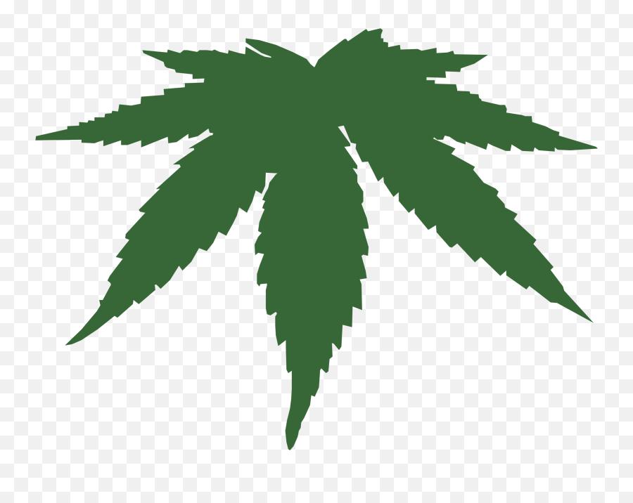 Cannabis Leaf Transparent Png Clipart Free Download - Vector Cannabis Leaf Png Emoji