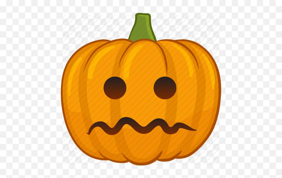 Pumpkin Emoji - Crying Pumpkin Clipart,Emoji Pumpkin