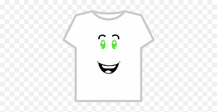 Cara Feliz Verde - Roblox Roblox Blue Starry Sight Emoji,Emoticon Feliz
