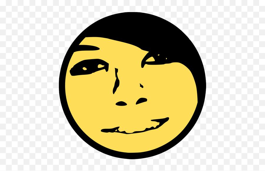 Vector De La Imagen De Sonrisa Boxxy - Smiley Face Watercolor Emoji