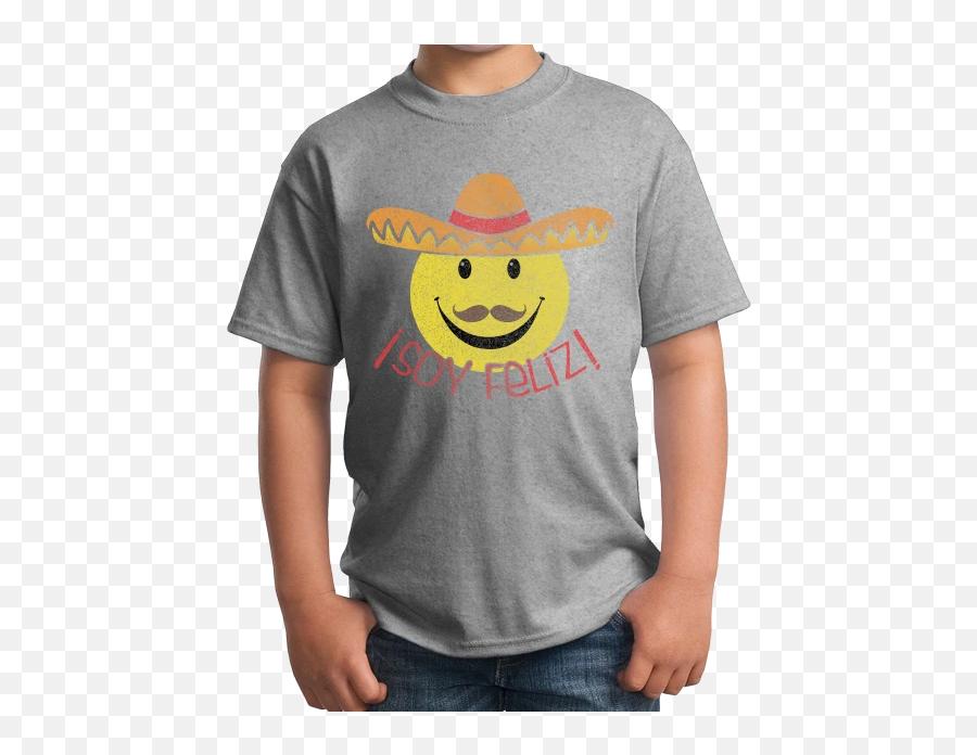 Soy Feliz - Spanish Phrase Iu0027m Happy Funny Espanol Cute Fun Tshirt Anti Commie T Shirts Emoji,Emoticon Feliz