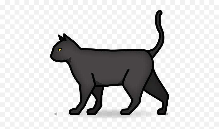 Cat Emoji For Facebook Email Sms - Black Cat Emoji Copy And Paste,Cat Emoji