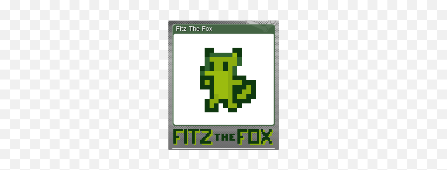 Steam Community Market Listings For 372830 - Fitz The Fox Steam Trading Cards Emoji,Fox Emoticon