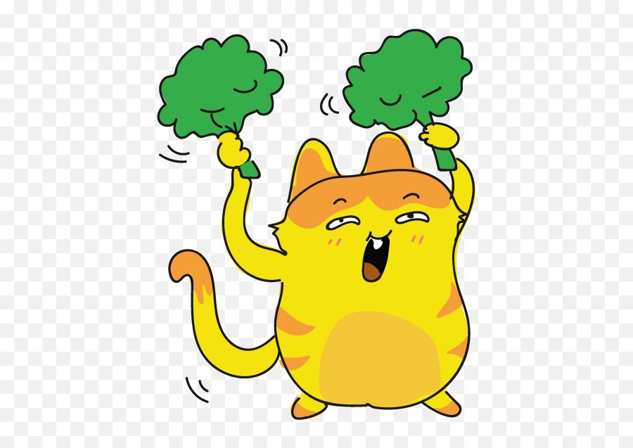 Funny Cat Emoji Stickers - Sticker,Cat Emoji