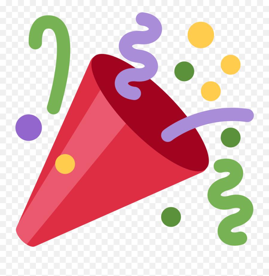Twemoji 1f389 - Celebration Icon Png,Joy Emoji