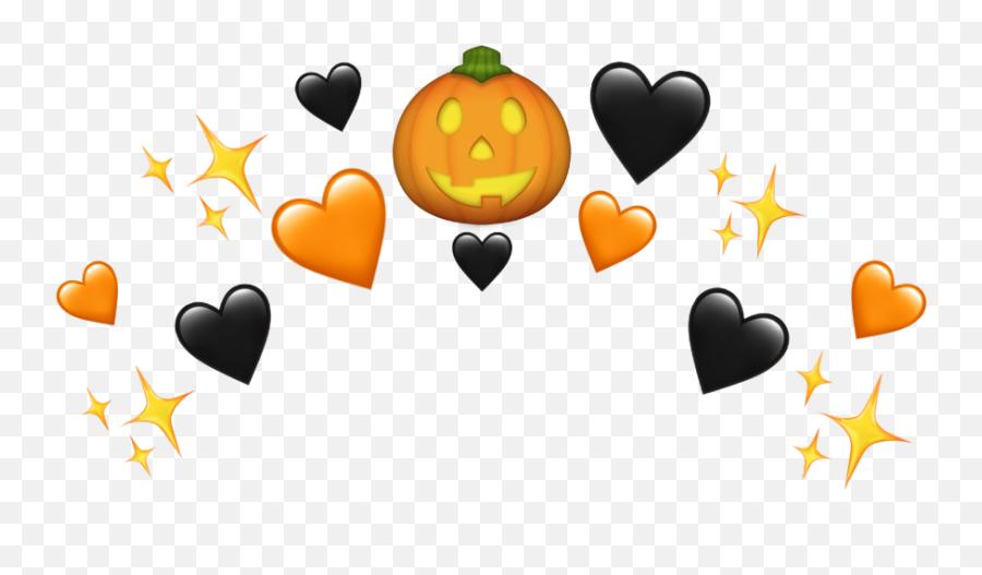 Halloween Emoji Pumpkin Freetoedit - Clip Art,Emoji Pumpkin
