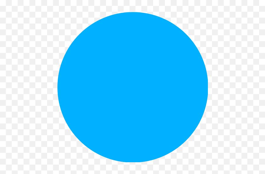 Blue Circle Emoji - Blue Circle Transparent,Hotemoji